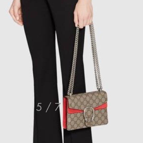 Gucci Handbags - GUCCI GG Supreme Mini Dionysus Shoulde Bag